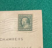 Benjamin Franklin 1 Cent Stamp 1910. Shipped With Usps First Class.