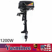 48v 1200w Electric Outboard Motor Marine Boat Fishing Boat Engine Propeller Usa