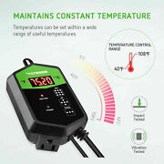 Germination Seed Starter Kit With Seedling Heat Mat And Temperature Controller