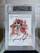 Dennis Rodman 2016-17 Impeccable Indelible Ink Auto /25 Bgs 9 With Sub 9.5