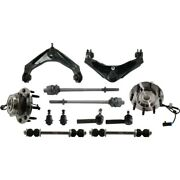 Control Arm Suspension Kit Set Of 12 Front Left-and-right For Chevy Avalanche