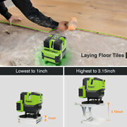 Multi-line Self-leveling Vertical And Horizontal Lines And Plumb Dot Laser Level