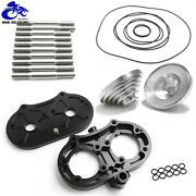 Banshee 350 All Billet For Pro Design Cool Head 19cc 19 Domes O-rings Studs Kit
