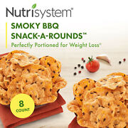Nutrisystem Smoky Bbq Snack-a-rounds 8 Ct Pack Delicious Diet Friendly Snacks