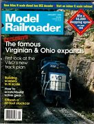 Model Railroader Magazine Jan 1998 Cover Virginian And Ohio Expands Icmsc2