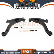 Moog Pair Front Lower Control Arm And Ball Joint Set For 2000-01 Plymouth Neon_pr