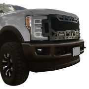 For Ford F-250 Super Duty 17-19 Main Grille 1-pc Sema Edition Lime Green Mesh