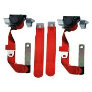 Seatbelt Solutions Cam74812007gm Premium Series 3-point Front Seat Belts Red