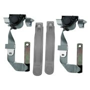 Seatbelt Solutions Premium Series 3-point Front Seat Belts Gray