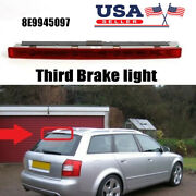 For Audi A4 B6 Wagon 2001-2005 8e9945097 Red Third 3rd Brake Stop Light Lamp Us