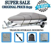 Durable Boat Cover For Bayliner Capri 1954 Cl / Cw Bowrider I/o 1997 Heavy-duty