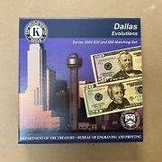 Frn 2004 Series 2004 Usa Bep Dallas Evolutions - 20 And 50 Matching Set Mint
