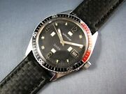 Vintage Longines Wittnauer Stainless Steel Diver Mens Watch 17j C11ks 1970s