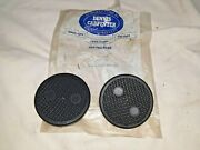 1937-1942 Brake And Clutch Pedal Pads Reproduction Dennis Carpenter - 1f17
