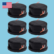 6x Trimmer Head For Echo Pas-225 Gt-2200 Srm-280 Speed-feed 400 Head Trimmer