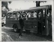 1965 Photo Salvation Army Bus Summer Camp 8x6