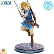 The Legend Of Zelda Breath Of The Wild Link Figure Collectible 10'' Detailed