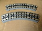 2 Mth Realtrax O31 Scale Train Curved Track Rail King