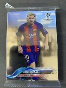 2017-2018 Topps Uefa Chrome Promotional Sample Pack - Unopened W/ Lionel Messi