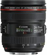 Secondhand Canon Ef 24-70mm F4 Is Usm Camera Popularity Recommendation Beginner