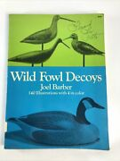 Wild Fowl Decoys By Joel D. Barber 1954 Edition Decoy Collecting Vintage Book