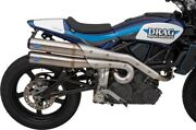 Sands Grand National 2-ino-2 High Exhaust System Indian Ftr 1200/ftr 1200 S
