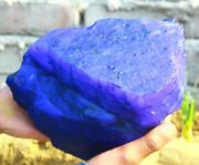 35000 Ct/7 Kg Certified Natural African Blue Sapphire Huge Gemstone Rough On1349