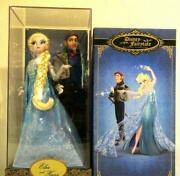 Anna And The Snow Queen Elsa And Hans Fairy Tail Doll Figure Super Rare