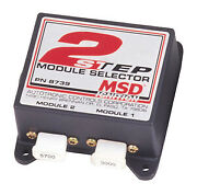 Msd Ignition 8739 2-step Module Selector For Use With