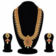 Bridal South Indian Traditional Necklace Jewellery Set Combo For Women A999