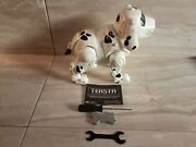 Teksta Interactive Robotic Puppy. Manley Quest. With Owners Manual And Accessorie