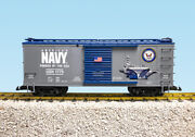 Usa Trains G Scale R19130-41 Us Military Series Complete 4 Pack Boxcars