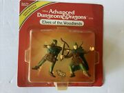Elves Of The Woodlands Advanced Dungeons And Dragons Figure Sealed 1984 Ljn