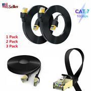 13pack Cat7 Sstp Gigabit Ethernet Network Cable 30awg Cord For Routers Lot Usa
