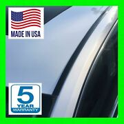 Black Roof Top Trim Moldings For 2009 2010 2011 2012 2013 Toyota Corolla 2pc