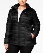 Columbia Womens Plus Size Pacific Post Thermal Coil Jacket Black 3x