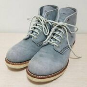 Used Thrift Secondhand Red Wing General Boots 8144 Classic Work Round Toe Inches