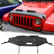 Front Hood Cover Engine End Bra Protector For Jeep Wrangler Jk 07-17 Accessories