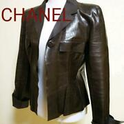 Sale Leather Jacket 40 From Japan Fedex No.8080