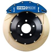 Stoptech 83-1604c0023 Front Big Brake Kit 355mm X 35mm 2 Piece Slotted Yellow Zi