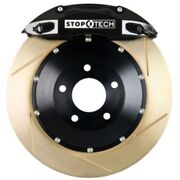 Stoptech 83-1604c0053 Front Big Brake Kit 355mm X 35mm 2 Piece Slotted Yellow Zi