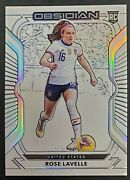 2020-21 Panini Obsidian Rose Lavelle Usa 97 Rookie Contra 2/9 Very Rare