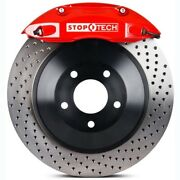 Stoptech 82-j74005861 Rear Big Brake Kit 1 Piece Rotor See Vehicle Fitment Tab F