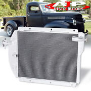 3-row Engine Cooling Radiator For 1941-1946 Chevy Pickup Truck Small Block Sbc