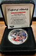 2001 Dale Earnhardt - 1 Ounce American Silver Eagle - Uncirculated