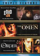 The Good Son / The Omen / The Order Dvd Very Good