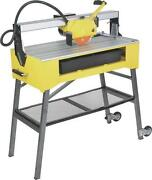 New Q.e.p. Roberts 83200 24 Inch 1.5 Hp Tile Bridge Saw With Folding Stand