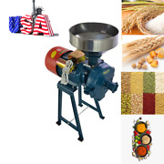 Electric Grinder Mill Grain Corn 2200w Wheat Feed/flour Wet And Dry Cereal Machine