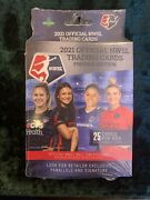2021 Official Nwsl Trading Cards Premier Edition - Factory Sealed Hanger Box