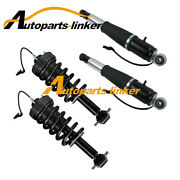 4x Front And Rear Air Suspension Shock Absorber For Chevrolet Tahoe 15-19